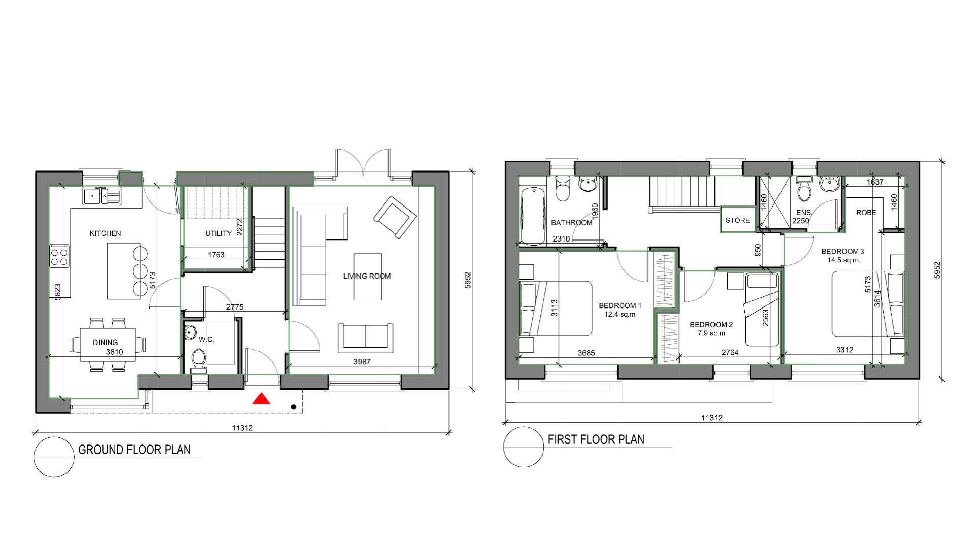 Abbeygate Ferrybank House Type B